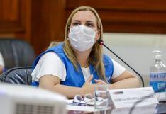 """Fiorella Molinelli sobre presuntas compras irregulares en Essalud: """"Siempre he actuado de manera responsable"""""""