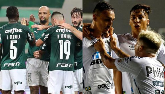 Palmeiras y Santos disputarán una final histórica en el Maracaná.