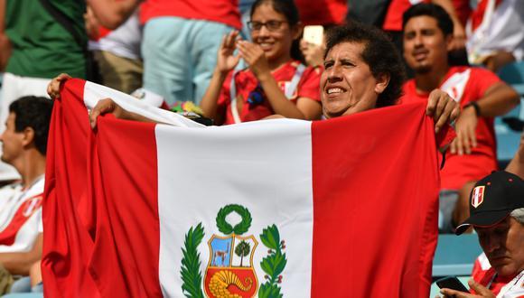 El verdadero origen de los colores de la bandera del Perú. (Foto: Nelson Almeida / AFP)
