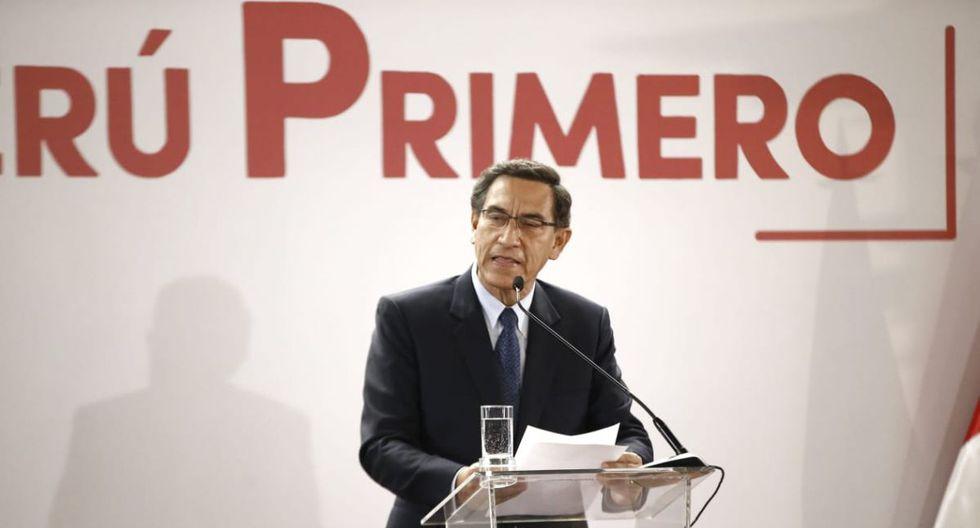 Presidente Martín Vizcarra afirma que esperan ser notificados por el TC para presentar sus argumentos (Foto: Renzo Salazar/ GEC)