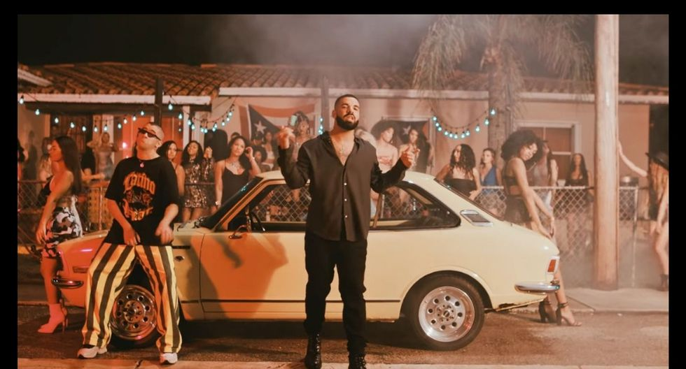 'MÍA' - Bad Bunny con Drake (Captura de video de YouTube)