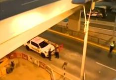 Surco: identifican a mujer que murió tras caer del puente Derby a la Panamericana Sur