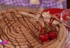 Receta fácil y económica de merengado de chocolate