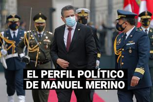 La trayectoria política de Manuel Merino, el nuevo presidente del Perú