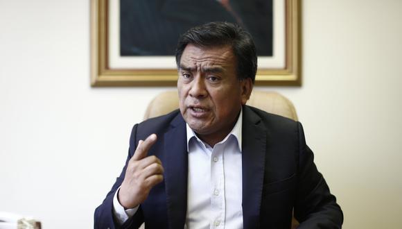 """""""No puede parar el procedimiento del lunes"""", dijo el parlamentario. (Foto: El Comercio)"""