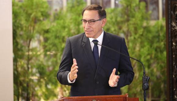 Martín Vizcarra (Foto: Dante Piaggio / Archivo El Comercio)