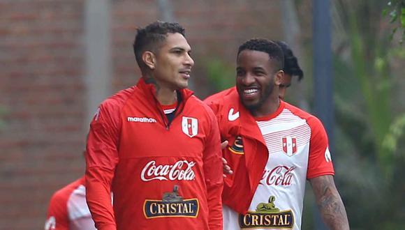 Jefferson Farfán y Paolo Guerrero recordaron a los jugadores que mejor impresión les dejaron. (Foto: GEC)