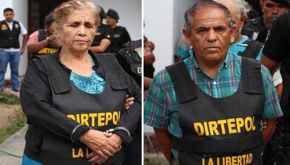 Padres del 'Cojo Mame' pasarán 18 meses en prisión preventiva