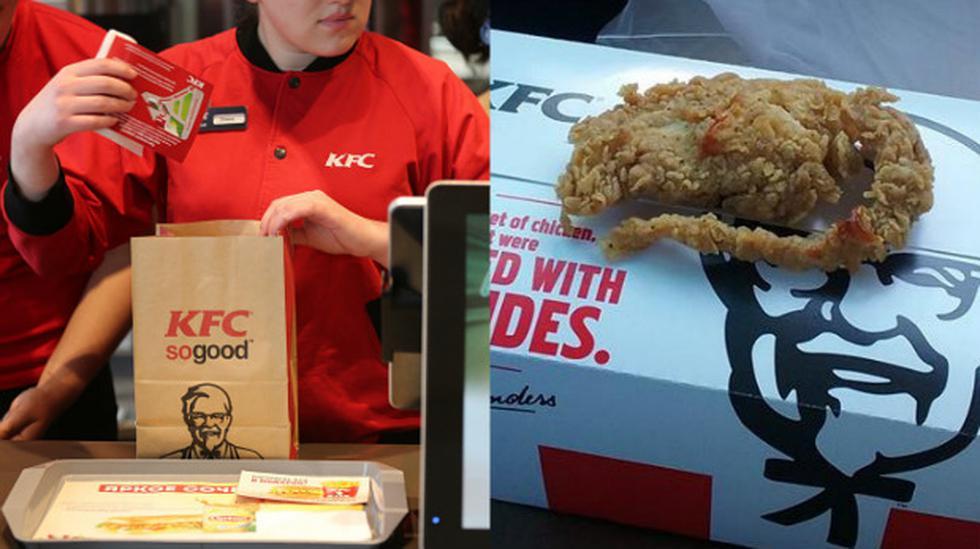 KFC busca a cliente que reclamó por supuesta rata frita - 1