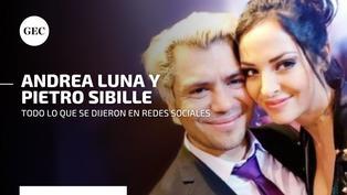 Esta fue la reacción de Andrea Luna y Andrés Wiese luego de su polémico ampay