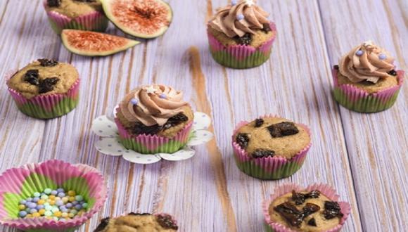 Cupcakes de higo