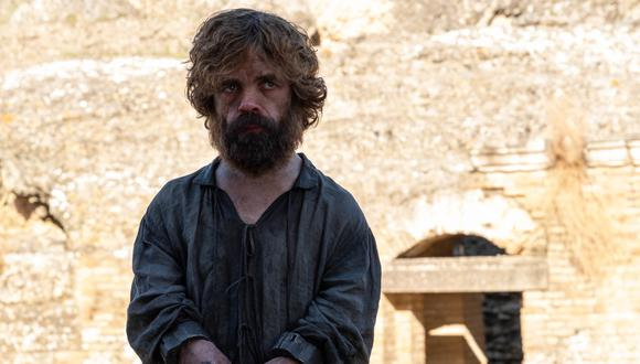 """Tyrion Lannister (Peter Dinklage) en uno de los momentos cruciales del final de """"Game of Thrones"""". Foto: HBO."""