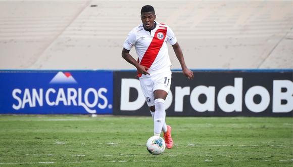 Montaño Jr. debutó ante Alianza UDH en la Liga 1 2020. (Foto: Liga de Fútbol Profesional)