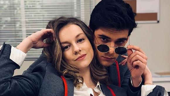 """Ester Expósito y Álvaro Rico: ¿por qué terminaron los actores de """"Élite""""? (Foto: Netflix)"""