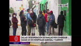 Callao: familias desesperadas por conseguir camas UCI