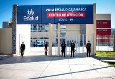 Cajamarca: instalan Villa Essalud y reciben a sus primeros pacientes contagiados con coronavirus