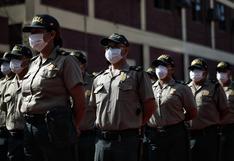 Ministro del Interior: más de 500 policías han muerto y más de 33.000 están contagiados con COVID-19