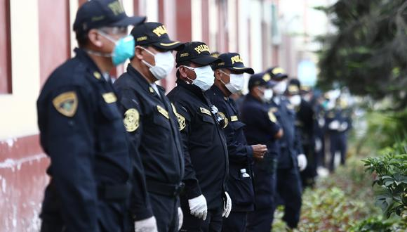 El ministro del Interior, Gastón Rodríguez, informó hoy que 4.098 policías a nivel nacional tienen COVID-19. (Foto: Archivo)