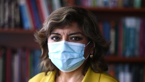 Zoraida Ávalos, fiscal de la Nación, señaló que respeta la autonomía de los fiscales. (Foto: archivo GEC)