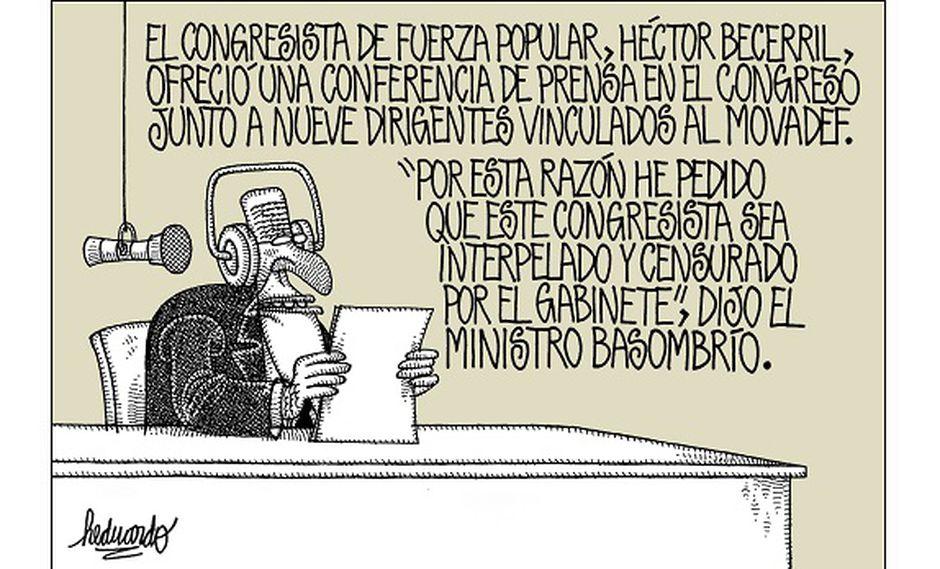 """Conare Becerril"".Heduardicidios. Viñeta de Heduardo publicada el 18-08-2017."