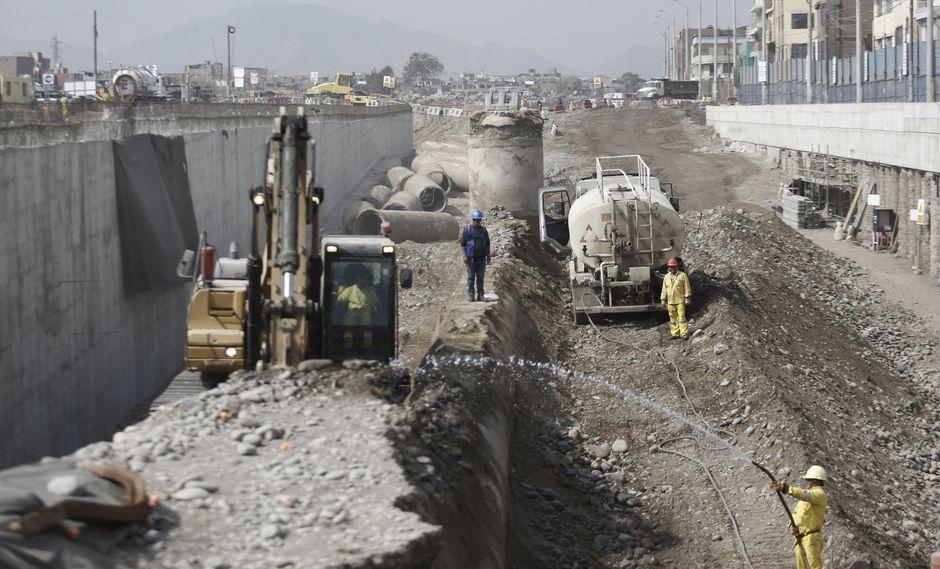 El sector construcción impulsó el desarrollo económico de julio. (Foto: USI)