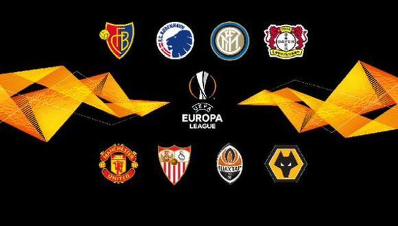 Así quedaron las llaves de cuartos de final de la Europa League. ( Foto: Europa League)