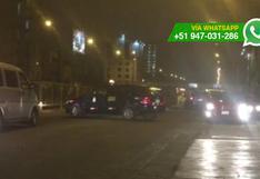 WhatsApp: conductores hacen lo que quieren en la Av. Brasil
