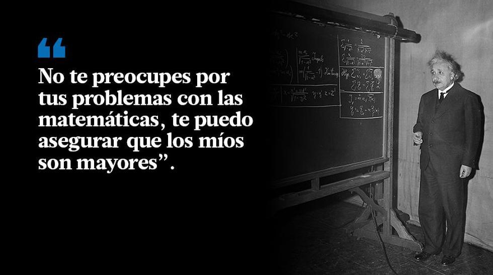 Einstein cumpliría 138 años: las frases que realmente dijo - 6