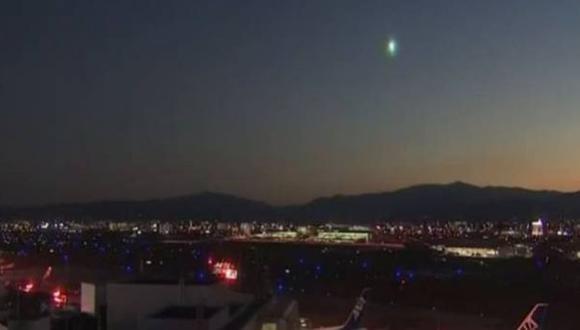 YouTube: bola de fuego cayó desde el espacio en Japón