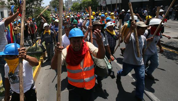 Mineros ilegales: lo que dejó su marcha de hoy en Lima - 8