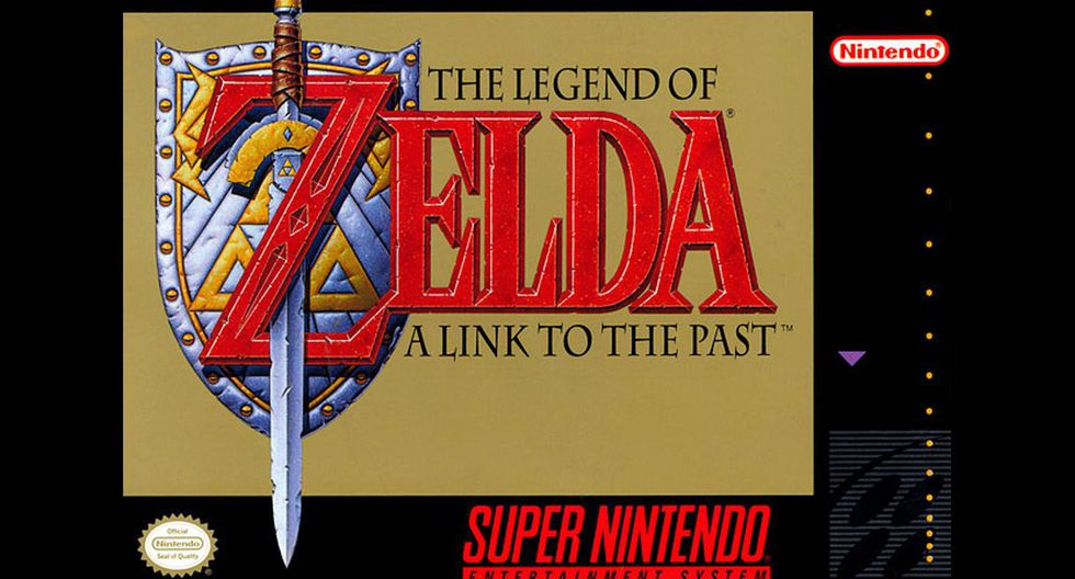 """""""The Legend of Zelda: A Link to the Past"""""""