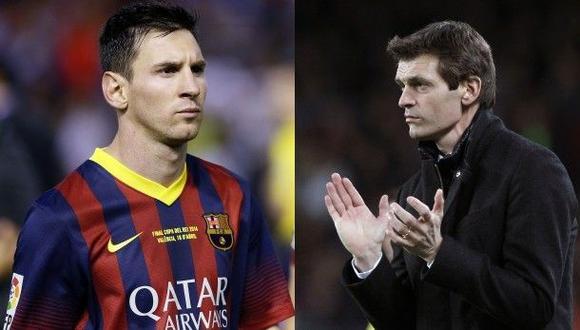 Vilanova convenció a Messi para que no dejara el Barcelona