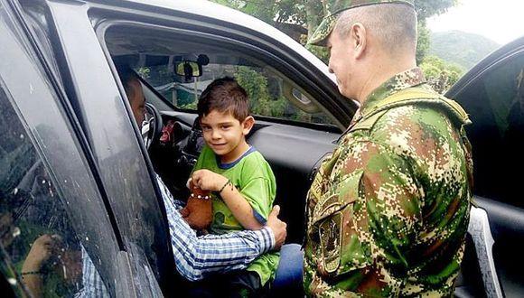 Cristo José Contreras: Liberan a niño de 5 años que había sido secuestrado en Colombia. (EFE)