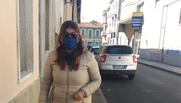 Liz Huarcaya López es una peruana que vive desde hace 2 años en Lombardía, la región más afectada por el coronavirus en Italia. Foto: Cortesía de Liz Huarcaya López