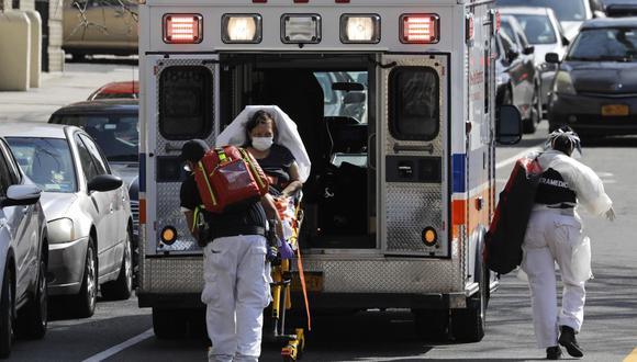 La emergencia sanitaria del coronavirus rebasa el sistema de salud en Nueva York. (Foto: EFE)