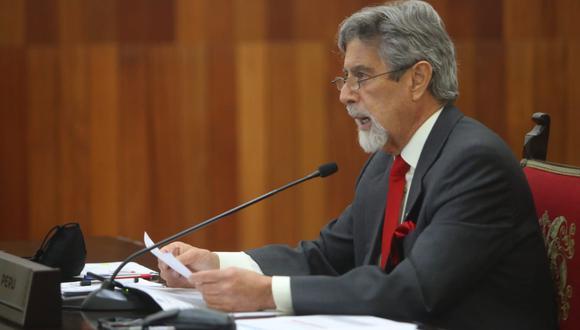 Francisco Sagasti es aún precandidato a la vicepresidencia por el Partido Morado. (Foto: Presidencia)