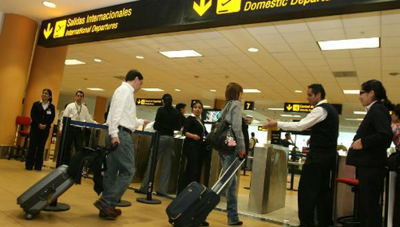El aeropuerto Jorge Chávez actualmente atiende 23 millones de pasajeros al año. (Foto: Andina)