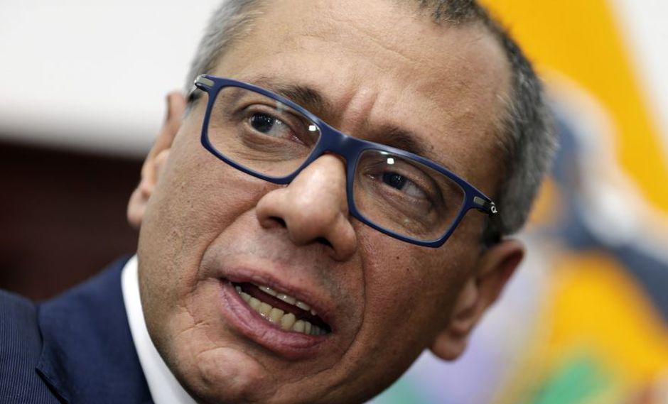 Hospitalizan a ex vicepresidente de Ecuador Jorge Glas por huelga de hambre en prisión (Foto: AP)
