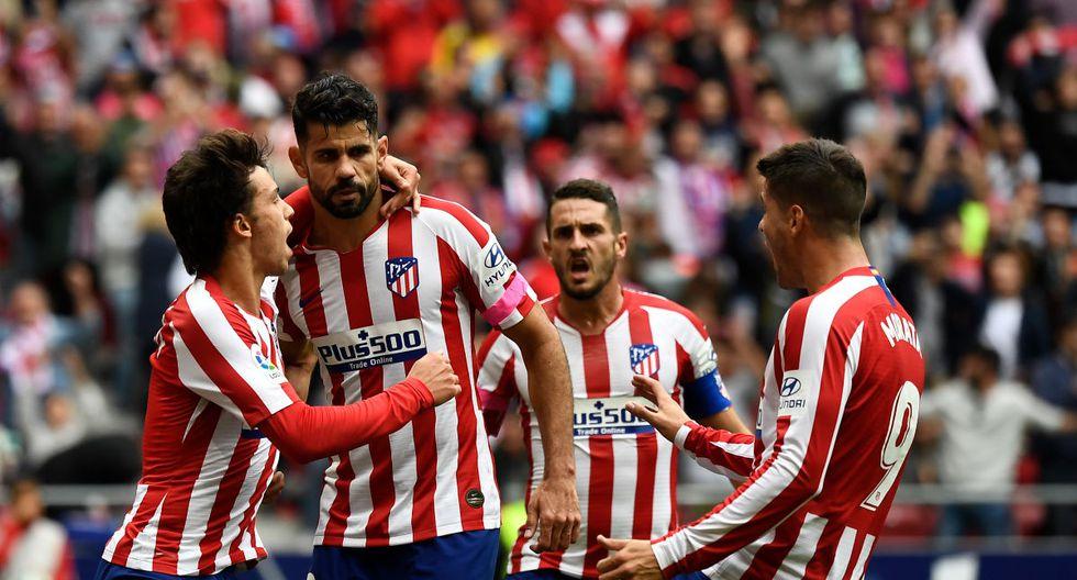Atlético de Madrid jugará con Athletic Bilbao por LaLiga Santander. Conoce los horarios y canales de todos los partidos de hoy, sábado 26 de octubre. (AFP)
