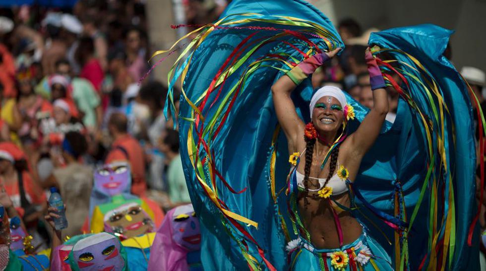 Carnaval de Río: Las coloridas imágenes del inicio de la fiesta - 1