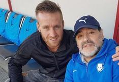 """Danilo Carando: """"Maradona me enseñó a rebelarme ante las situaciones difíciles"""""""