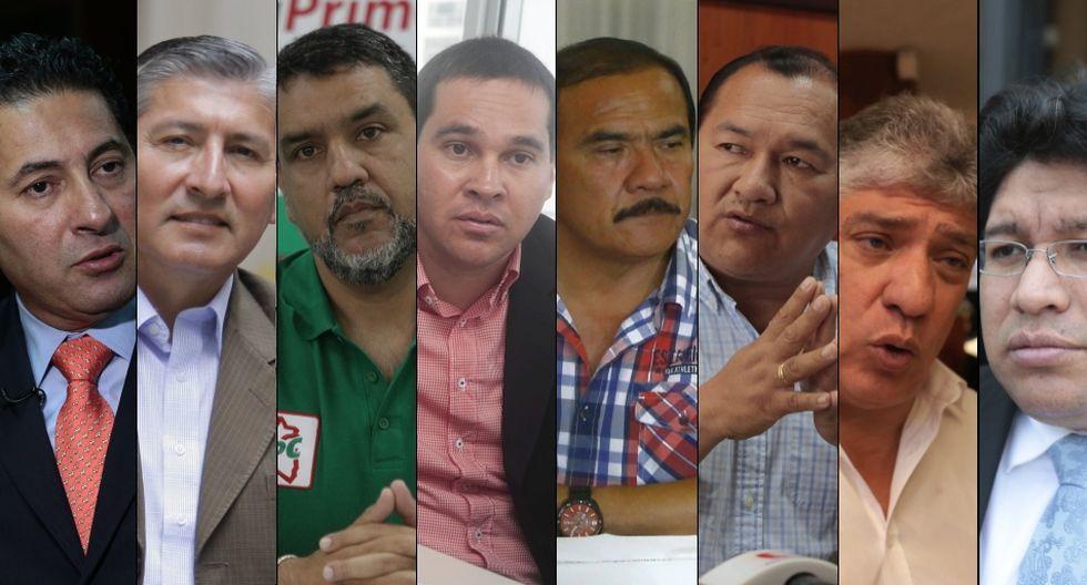 Al menos ocho ex alcaldes postulan al Congreso de la Reapública. Algunos tienen investigaciones pendientes. (Imagen: El Comercio)