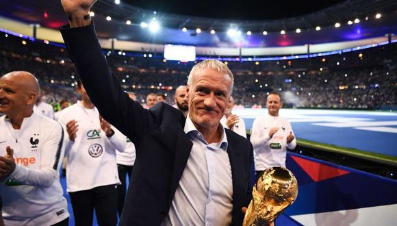 Didier Deschamps ganó premio FIFA The Best al mejor técnico. (Foto: AFP)