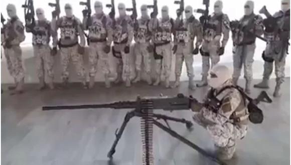 El Cártel Jalisco Nueva Generación publicó un video donde le declara la guerra al Cártel del Abuelo en Michoacán.