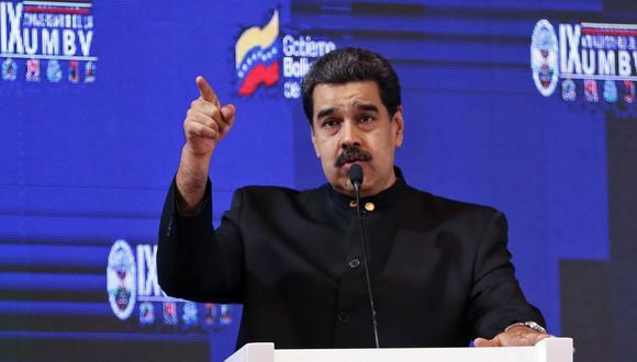 La revista Semana reveló documentos venezolanos que mostrarían instrucciones de Nicolás Maduro a los generales venezolanos para brindar apoyo a miembros de los grupos terroristas colombianos. (AFP)