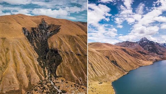 La silueta del mapa del Perú como nunca antes la viste. (Foto: Facebook / JV Filmmakers)