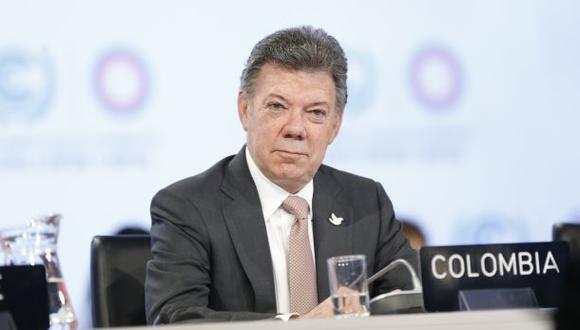 Santos acorta su agenda en el Perú por atentados en Bogotá