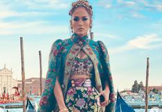 Jennifer Lopez sorprende en el desfile de Dolce & Gabbana de Venecia