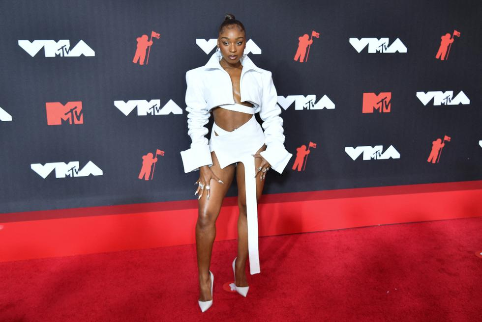 The former member of the group Fifth Harmony returned to the MTV VMAs as a soloist. (Photo: AFP).
