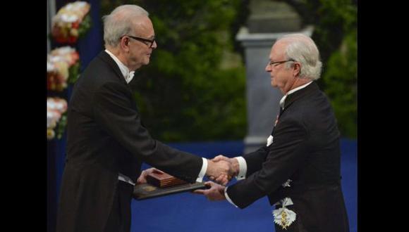 Patrick Modiano recibió el Nobel de Literatura